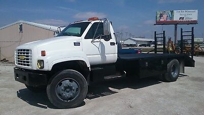 1998 GMC C6500 Flatbed Truck