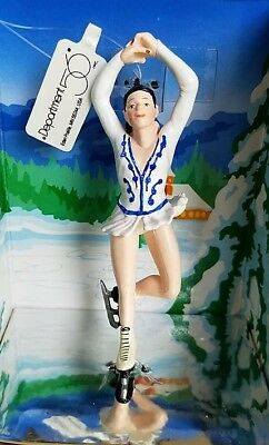 "Dept. 56 Ornament ""valley Lake Figure Skater"" - New In Box"
