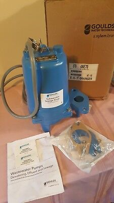 WS2034BHF Goulds 2 HP 460 Volts Submersible Sewage Pump 3 Phase. B12