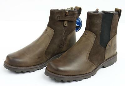 Timberland Asphalt Trail Chelsea Dark Brown Leather Youth