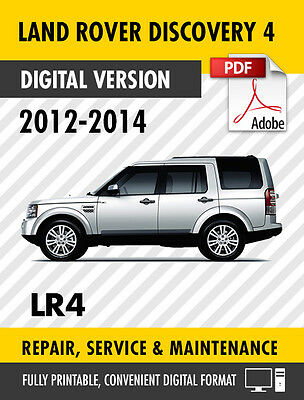 2012 2014 land rover discovery 4 lr4 factory repair service manual rh picclick co uk discovery 4 workshop manual discovery 4 workshop manual