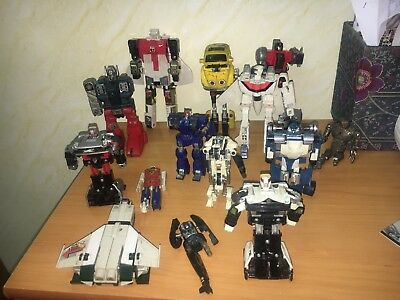 Lotto ROBOT TRANSFORMERS TAKARA E ALTRI and OTHERS SPARE PARTS ONLY per RICAMBI