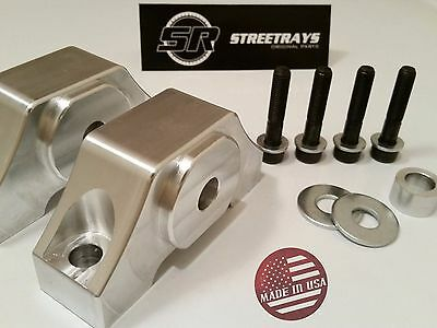 StreetRays Billet Aluminum Urethane Transmission Trans Mount for 350Z G35 03-09