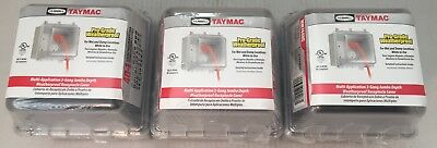 (3) TAYMAC MM7440C Horizontal/Vertical-Mount While In Use Weatherproof Cover
