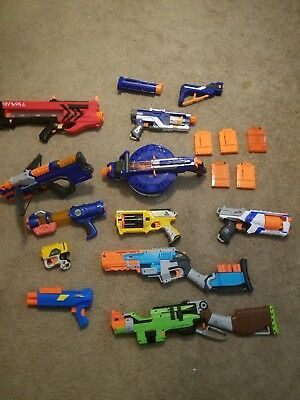 Huge Lot of Nerf Guns, Rival Zeus and more READ DESCRIPTION