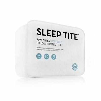 Five 5ided IceTec Pillow Protector  Sleep Tite  Malouf