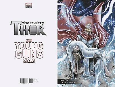 MIGHTY THOR #706 Young Guns Variant Marvel Comics NM 2018