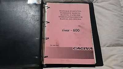 Cagiva River 600 Cc Official Factory Workshop Manual