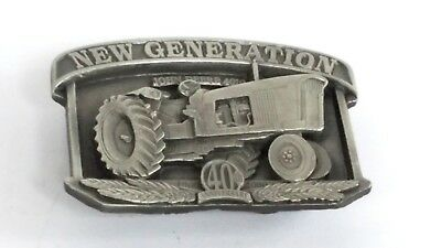 John Deere Limited Edition Belt Buckle - 40th Anniversary of Model 4010