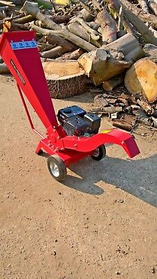 6.5 hp petrol engine woodchipper-shredder -  branchchipper- gbk-65 -1