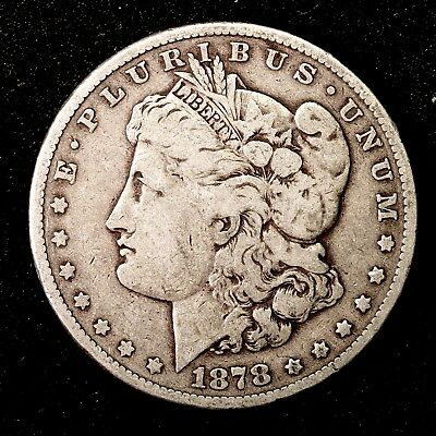 1878 S ~**1ST YEAR ISSUE**~ Silver Morgan Dollar Rare US Old Antique Coin! #A46