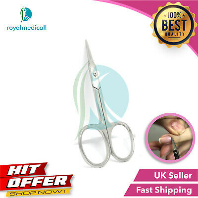 Super Sharp Str Edge Cuticle Nail Scissor Arrow Point Stainless Steel