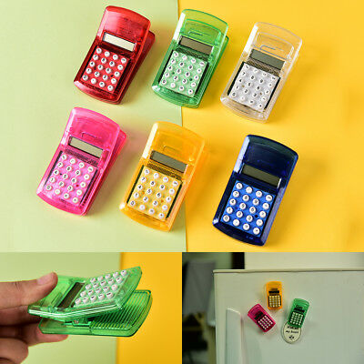 Fridge Stricker Clip Solar Powered Calculator Clip Children School CalculatiR Eu
