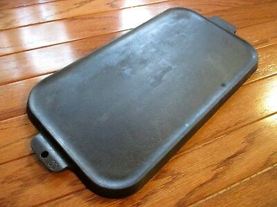 Griswold Erie Cast Iron Vintage Antique #8 Long Griddle 908A