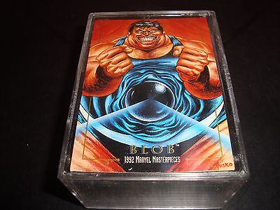 1992 MARVEL MASTERPIECES complet 100 CARTE Ensemble nm-mt état DAREDEVIL X-MEN