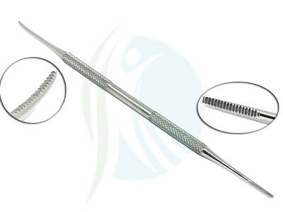Blacks File Double End Podiatry Chiropody Instruments Stainless Steel