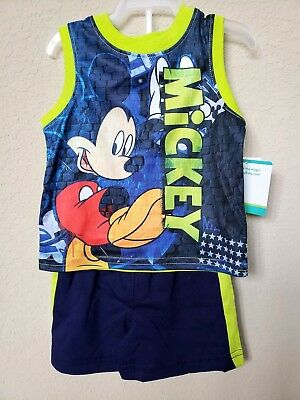 *nwt- Disney - Baby Boy's Licensed Tank & Shorts Set