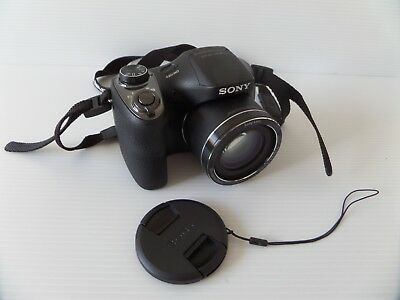 Sony Cyber-shot DSC-H300 20.1 MP Digital Camera Black With Carry Bag
