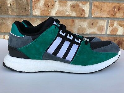 promo code db958 54f2d MEN'S ADIDAS EQT Support 93/16 Boost Green Black White Grey Size 9.5 S79923