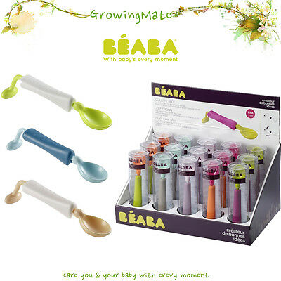Beaba 360° Training Spoon Neon Color Only A spoon never turns over Baby Feeding