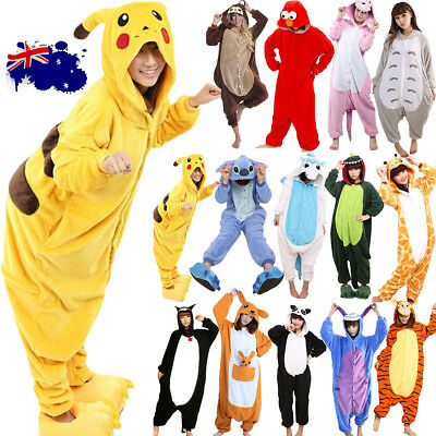 Animal Bodysuit Adult Kids Kigurumi Cosplay Costume Pyjamas Pajamas Sleepwear AU