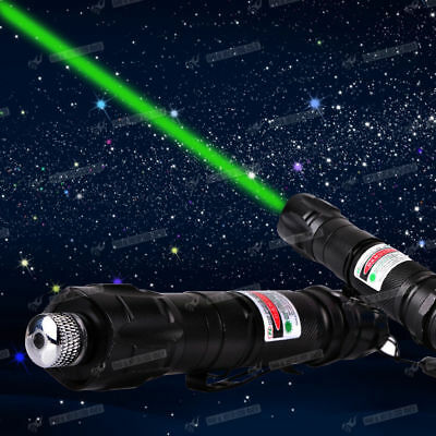 Green Powerful Laser Pointer Pen Visible Beam Light 1mW Lazer 532nm High Power