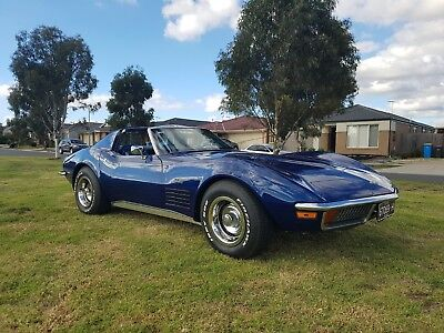 1972 Chevrolet Corvette Stingray Auto MY72