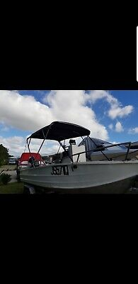 Brooker Center Console Fishing Boat with a 40hp Yamaha