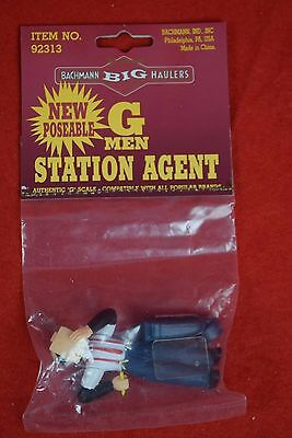 Bachmann Big Haulers G Scale background scenery - G men station agent 92313