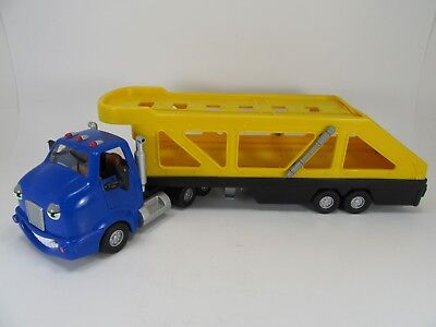 Cary  Carrier Toy Semi Car Transport Hauler Trailer - The Chevron Cars