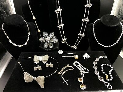 Stupendous Unique Estate Lot of Vintage Costume Jewelry (13 Pc) All Pristine