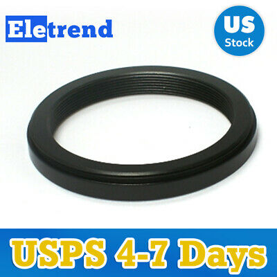 52mm to 43mm 52mm-43mm Male-Famale Step-Down Lens Filter Hood Cover Ring Adapter