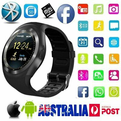 Waterproof Y1 Bluetooth Smart Watch Phone Mate Watches for IOS Android iPhone X