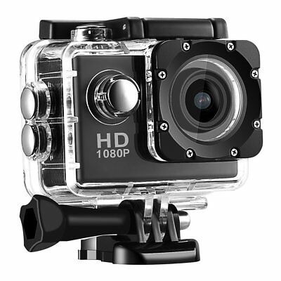 Action Camera A9 1080P HD 2.0'' Waterproof Outdoor Mini Cam go Sport Video pro H