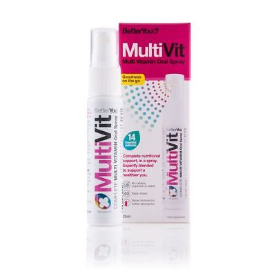 BetterYou MultiVit Oral Spray 25ml
