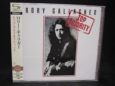RORY GALLAGHER Top Priority + 2 JAPAN SHM CD Taste Michael Schenker Group T. Gas