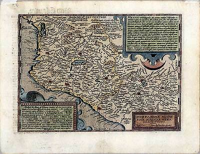 Mexiko-Mexico-Amerika-Karte-Map Quad-Bussemacher 1600