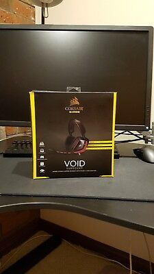 Corsair Gaming VOID PRO Surround Hybrid Stereo Gaming Headset, Red