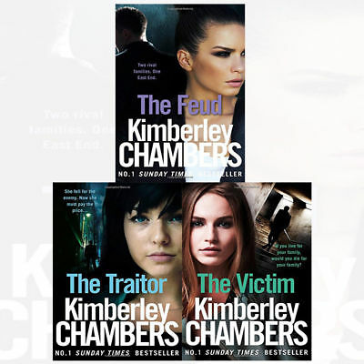 Mitchells and O'Haras Trilogy Collection By Kimberley Chambers 3 Books Traitor