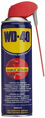 Wd-40 - Lubricante Doble Accion Multiusos 500 Ml