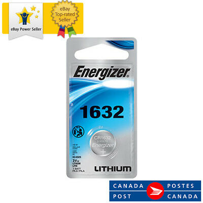 1 x Energizer Lithium CR1632 battery 3V Coin Cell BR1632 KRC1632 DL1632 EXP:2025