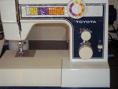 Toyota Sewing Machine - Model 2400  very good condition with foot pedal