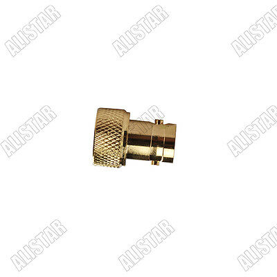 BNC female jack to SMA male lot RF adapter connector for Vertex Kenwood Nickel