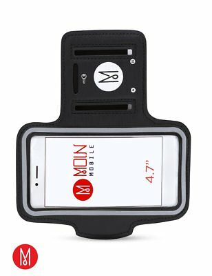 "Moin Mobile Handy IPhone 678X Plus Sport Armband Jogging Fitness 4,7""5,5""Samsung"