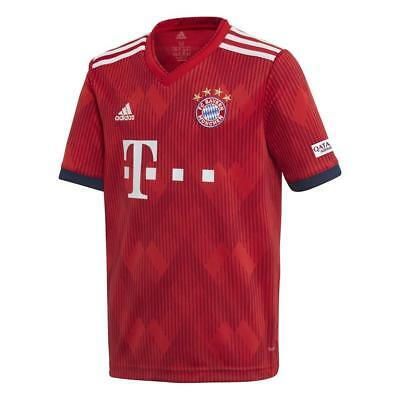Adidas Bayern Munich Home Junior Short Sleeve Jersey 2018/2019