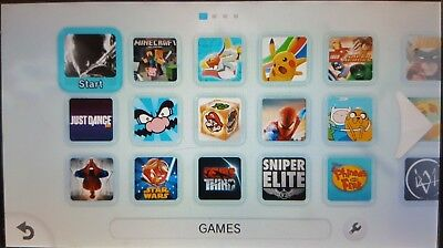 WII SD CARD 32gb loaded with homebrew channels emulators