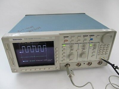 Tektronix TDS 644B Color 4 Channel Oscilloscope 500MHz 2.5GS/s SPC PASS 13 1F 2F