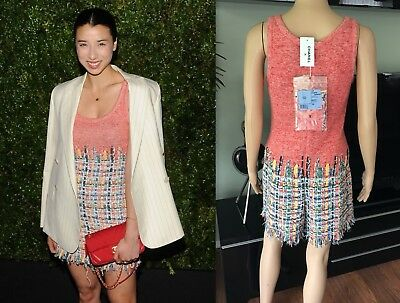 0aeb49930bd4 New Chanel Runway Sexy Tweed Romper Jumpsuit Fr 38 So Cute Sold Out!