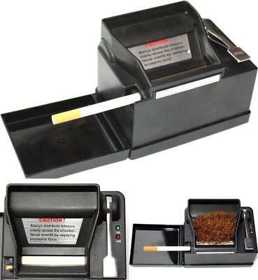 POWERMATIC 2 II ELECTRIC CIGARETTE ROLLING MACHINE MAKE KING & 100 MM CIGS New