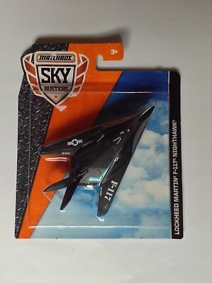 Matchbox Skybusters Military US Air Force F-117 Stealth Fighter